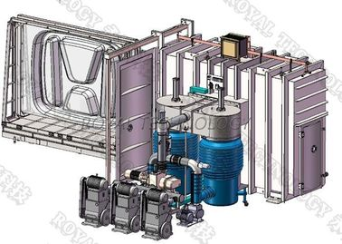 Polycarbonate Sheet Thermal Evaporation Coating Unit, PC Panel Aluminium Metalizing Plant