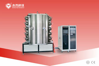 Multi Arc PVD Matte Emas Plating Machine, 3D Item Stainless Steel Mesin PVD Ion Plating