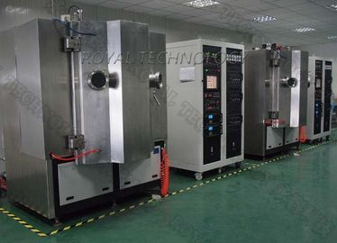 Arc Evaporation Mesin Vacuum Plating PVD, lembar SS Menyikat TiN Gold Plating, Matt Rose Gold Plating